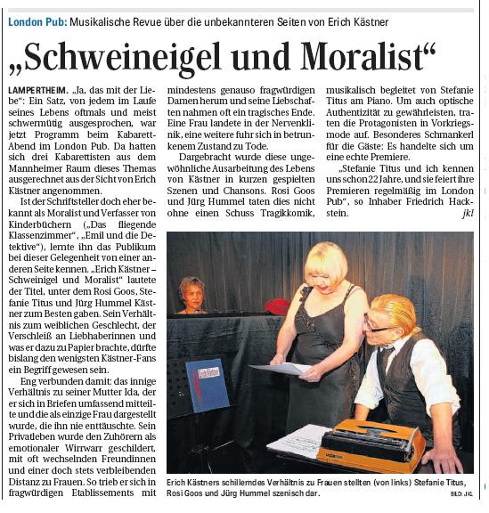 Schweineigel und Moralist