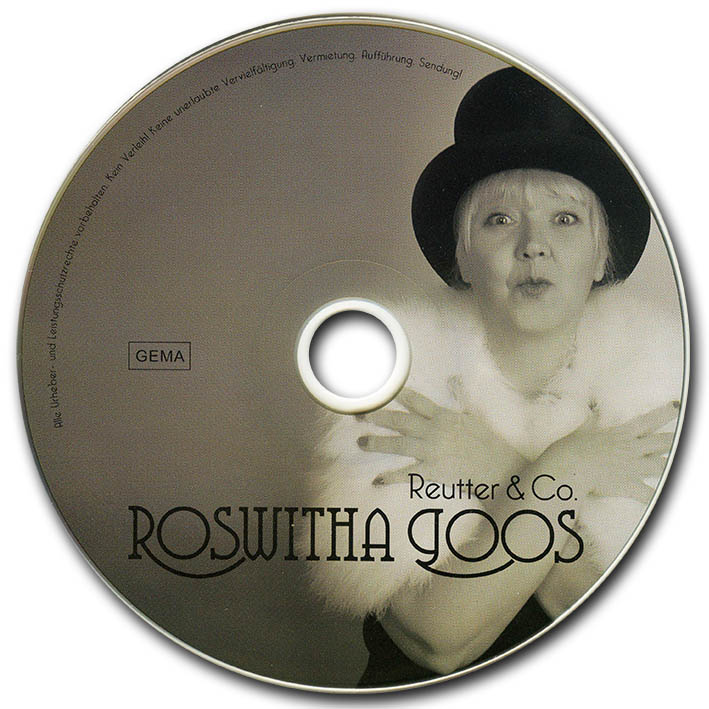 Roswitha Goos - meine Reutter & Co. CD