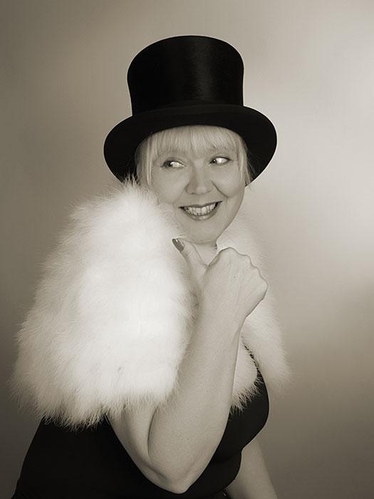 Roswitha Goos - Schwetzinger Chansonsängerin