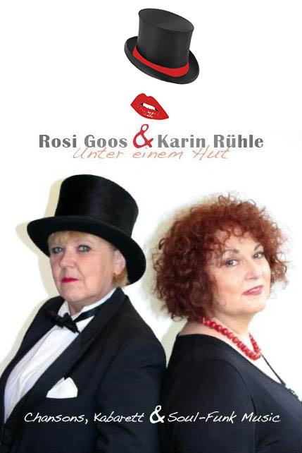 Das Duo zusammen mit Karin Rühle