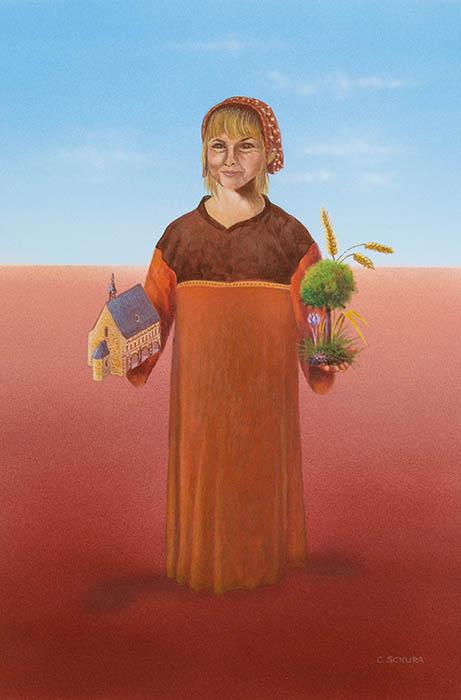 Roswitha Goos als Agana - 1250 Jahr Schwetzingen