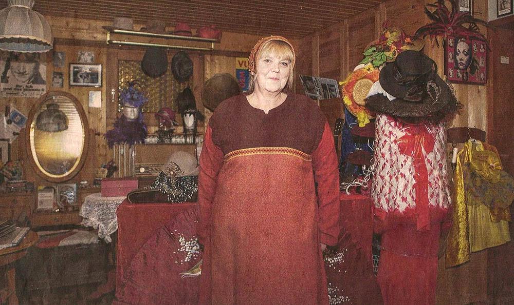 Repräsentantin der Schwetzinger Gründermutter im Jubiläumsjahr 2016